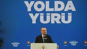 Erdoğan, Trabzon'da raylı sistem ve demiryolu müjdesi verdi