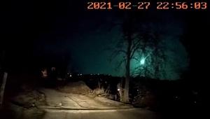 Karadeniz'e meteor düştü! Trabzon ve Giresun'da görüldü!