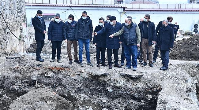 Pazarkapı'daki tarihi eserler koruma altına alındı