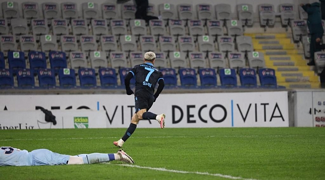 Trabzonspor Başakşehir'i altyapıyla yıktı 1-0