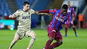 Trabzonspor'da büyü bozuldu 1-0