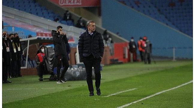 Abdullah Avcı'dan Trabzonspor - Fenerbahçe maçının ardından açıklama.
