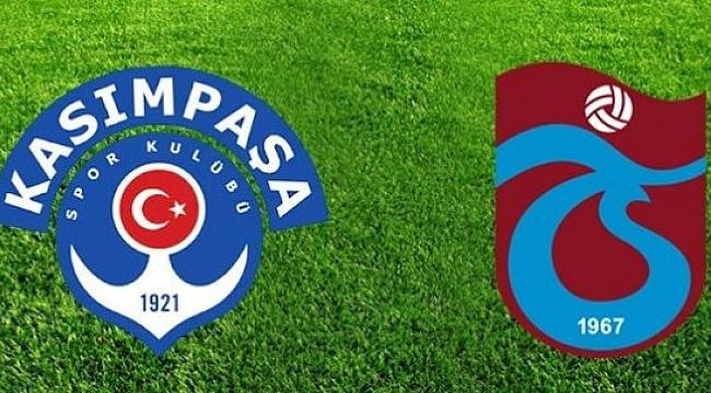 Kasımpaşa-Trabzonspor maçı muhtemel 11'ler
