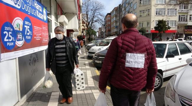 Trabzon'da sürekli HES kodu sorulan vatandaşın ilginç çözümü