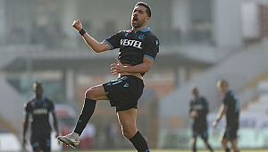 Trabzonsporlu Bakasetas'ın rekor kırmasına 1 gol kaldı