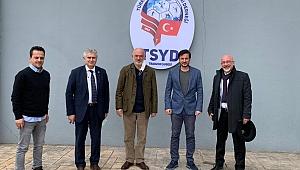 Divan Başkanlığına yeniden aday olan Ali Sürmen, TSYD'yi ziyaret etti