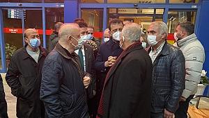 İBB Başkanı Ekrem İmamoğlu Trabzon'a geldi