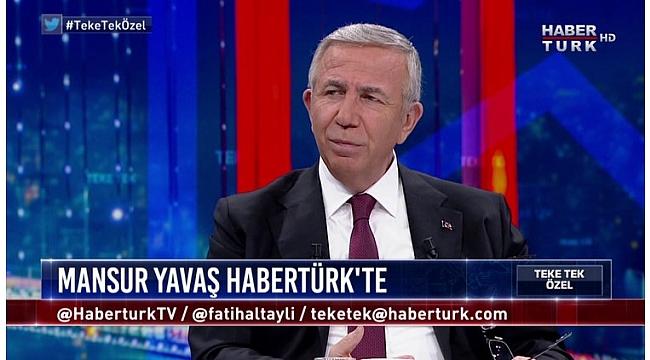 Mansur Yavaş: Belediyelerin topladığı yardım paraları devlette bekliyor