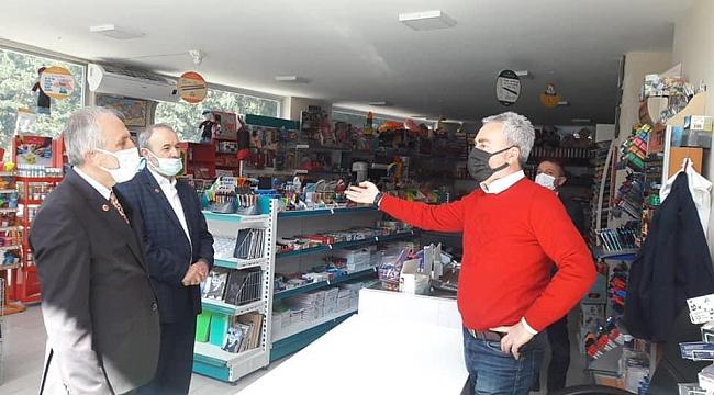 Saadet Partisi Trabzon'da esnafı ziyaret etti, durum vahim!