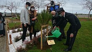 Şehit polisler için hatıra ormanı