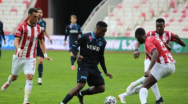 Sivasspor - Trabzonspor: 0-0