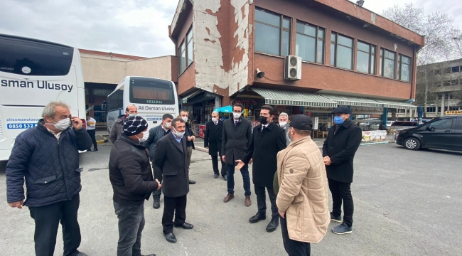 Trabzon terminali dökülüyor