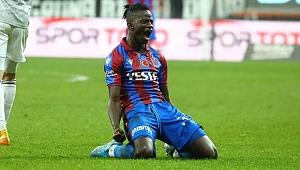 Trabzonspor'da Edgar IE sakatlandı
