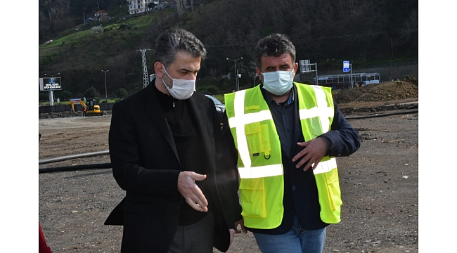 AK Parti İl Başkanı Mumcu, projeleri yakından takip ediyor