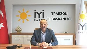 İYİ Parti Trabzon İl Başkanı Kuvvetli,  işten çıkartılan o gazeteciye sahip çıktı...