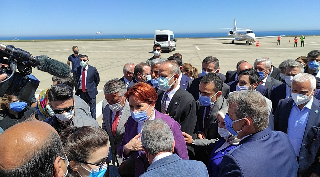 Meral Akşener, Trabzon ve Rize'de....
