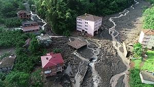 Trabzon'da sel riski altındaki 446 yapıda yaşıyorlar