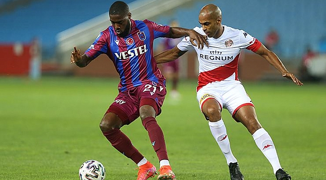 Trabzonspor - Antalyaspor maçı sonucu: 2-1