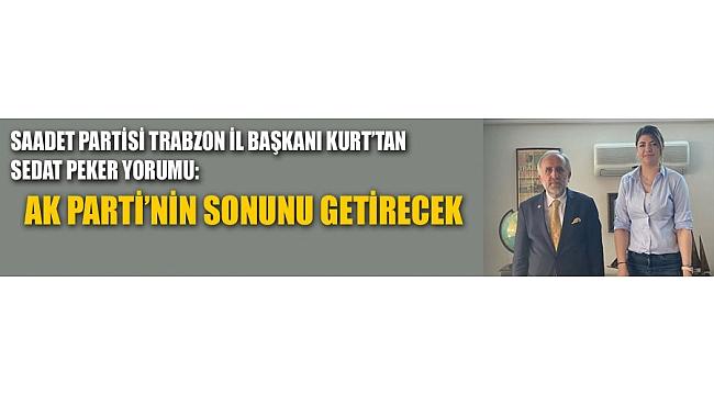 Saadet Partisi Trabzon İl Başkanı Kurt, habercuk'u ziyaret etti