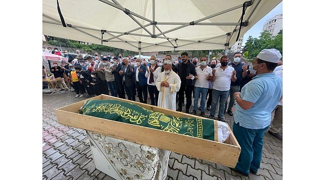 Semih Sarıalioğlu'nun babası göz yaşlarıyla son yolculuğuna uğurlandı