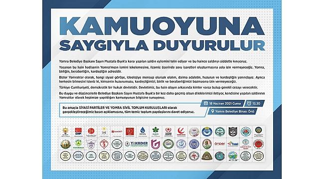 Trabzon Yomra'da toplanacak