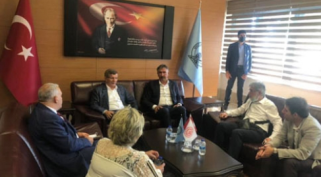 Ahmet Davutoğlu Trabzon'da....