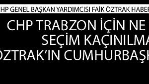 CHP Genel Başkan Yardımcısı Faik Öztrak'dan habercuk.com'a özel açıklamalar...