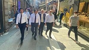 CHP Trabzon'da sahaya indi