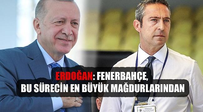 Cumhurbaşkanı Erdoğan'dan Fenerbahçe'ye 3 Temmuz mektubu