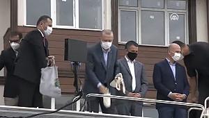 Cumhurbaşkanı Erdoğan sel bölgesinde açıklamalarda bulundu