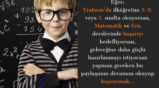 BNU'dan Trabzonlu ortaokul öğrencilerine ders desteği
