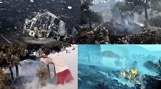 Gökova'da termik santral ve yangın kâbusu…