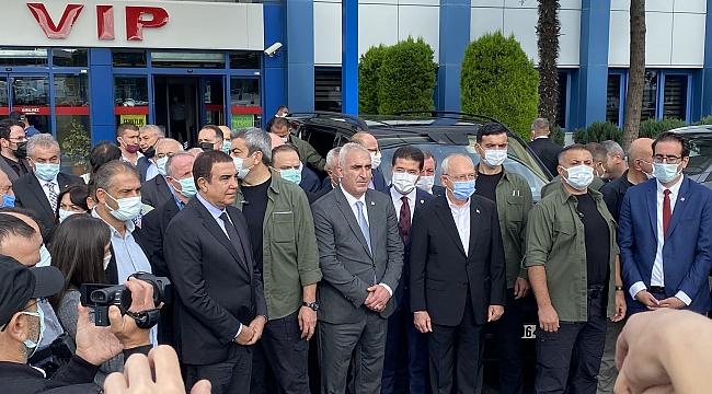 CHP Genel Başkanı Kemal Kılıçdaroğlu Trabzon'da…