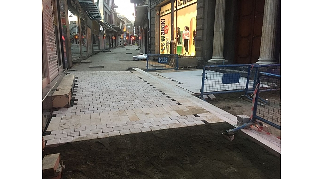Trabzon'da üst yapıda hız arttırıldı