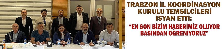 Trabzon'un mühendis odaları açık açık her şeyi söyledi...