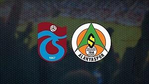 Trabzonspor liderlik şansını tepti! Fırtına, Alanyaspor engelini aşamadı!