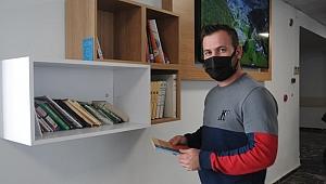 Hastane kütüphane! Trabzon'da örnek uygulama