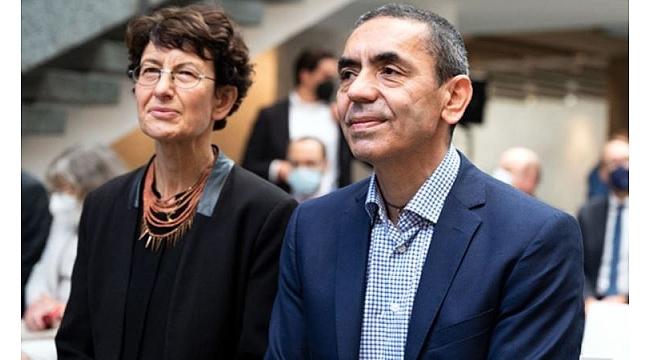 Şahin ve Türeci'den Turkovac aşısı açıklaması