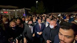 Trabzon'da Ekrem İmamoğlu izdihamı