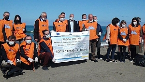 Trabzon sahilindeki çöplerin yüzde 81'i plastik çıktı