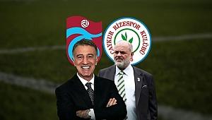 Trabzonspor-Çaykur Rizespor maçı öncesi Ahmet Ağaoğlu ve Tahir Kıran'dan dostluk mesajı!