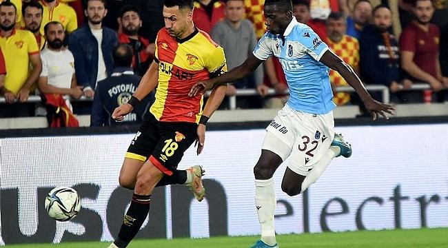 Trabzonspor Liderliği Perçinledi Trabzonspor-1 Göztepe-0