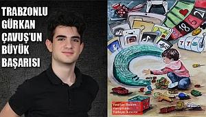 Yeşilay'ın yarışmasında Trabzonlu öğrenci Türkiye ikincisi oldu