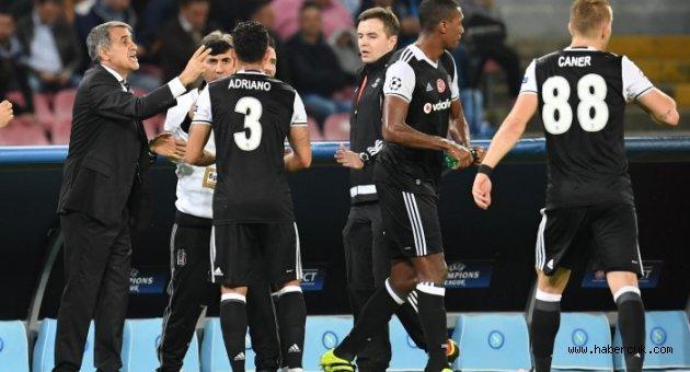 Beşiktaş Deplasmanda Napoli'yi 3-2 Mağlup Etti