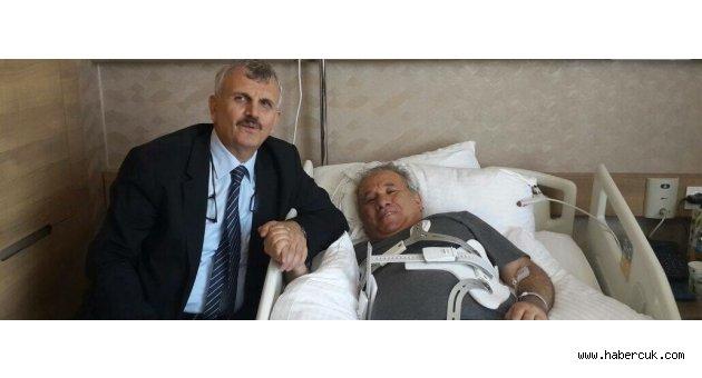 Cevdet Erdöl Trabzon'daki hastanelere el attı