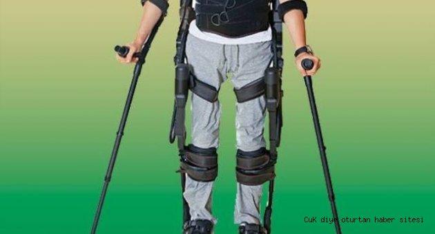 Felçli hastalar robot yardımıyla yürüyecek