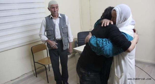 Kadın terörist,savcılık izniyle ailesiyle görüştürüldü