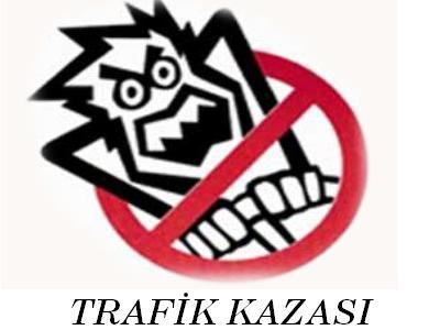 Düzköy kavşağında yine kaza ve ölüm