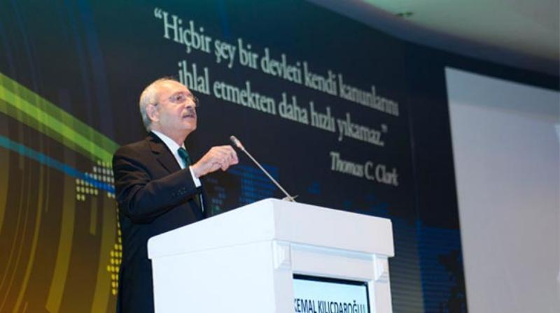 Kılıçdaroğlu'ndan sert mesajlar