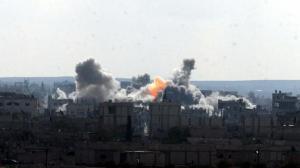 Kobani'de son durum! Çatışma kızıştı, sadece 10 peşmerge gidebildi